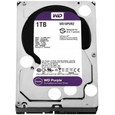 HD Western Digital Purple Surveillance 1TB, Sata III, 5400RPM, 64MB, WD10PURZ