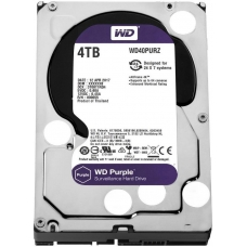 HD Western Digital Purple Surveillance 4TB, Sata III, 5400RPM, 64MB, WD40PURZ
