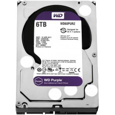 HD Western Digital Purple Survillance 6 TB, 3.5, Sata III, WD60PURZ