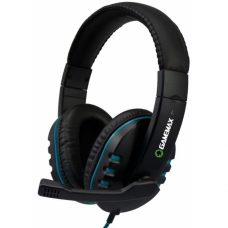 Headset Gamemax HG333 C/ Microfone Azul