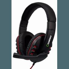 Headset Gamemax HG333 C/ Microfone Vermelho