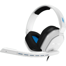 Headset Gamer Astro A10, White/Blue, 939-001853