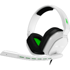 Headset Gamer Astro A10, White/Green, 939-001854