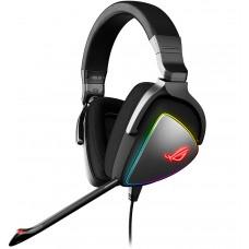 Headset Gamer Asus, ROG Delta, RGB, USB-C, Black, 90YH00Z1-B2UA00