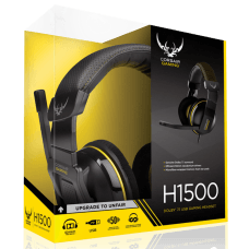 Headset Gamer Corsair H1500 Dolby 7.1 Yellow/Black CA-9011128-NA
