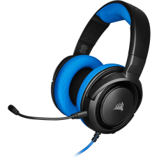 Headset Gamer Corsair HS35 Stereo Blue, CA-9011196-N