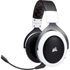 Headset Gamer Corsair HS70 Pro Wireless, Surround 7.1, Branco, CA-9011177-EU