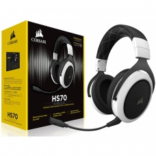 Headset Gamer Corsair HS70 Wireless 7.1 USB CA-9011177-NA Preto/Branco