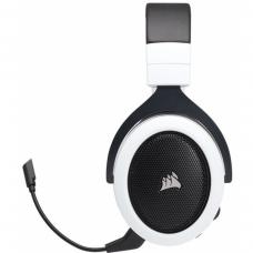 Headset Gamer Corsair HS70 Wireless 7.1 USB CA-9011177-NA Preto/Branco
