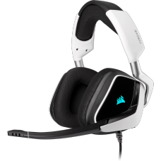 Headset Gamer Corsair Void RGB Elite, 7.1 Surround, White, CA-9011204-NA
