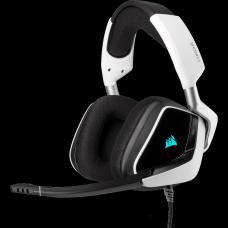 Headset Gamer Corsair Void RGB Elite, 7.1 Surround, Wireless, White, CA-9011204-NA