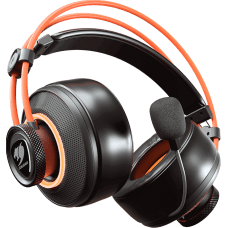 Headset Gamer Cougar Immersa Pro Ti, Surround 7.1, Black/Orange, 3H700U50T.0001