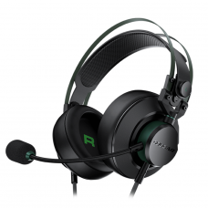 Headset Gamer Cougar VM410 XB, 3.5mm, Multi Plataforma, Black/Green, 3H550P53X.0001