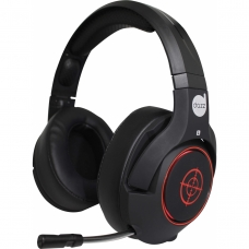 Headset Gamer DAZZ BALLISTIC DUAL CORE 7.1 624852 Preto/Vermelho