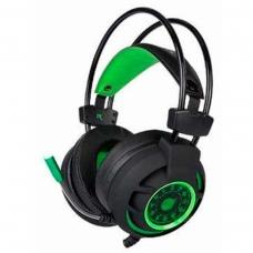 Headset Gamer DAZZ Diamond 7.1 HG9012 Preto/Verde