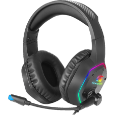Headset Gamer Fortrek Blackfire, RGB, USB, Preto