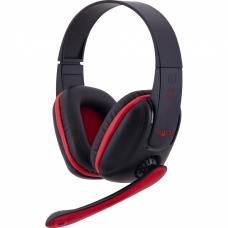 Headset Gamer Fortrek SPIDER TARANTULA SHS-702 Preto/Vermelho
