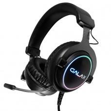 Headset Gamer Galax Sonar-01, USB, RGB, Black, HGS015USRGR0