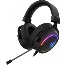Headset Gamer Gamdias Hebe M2, Surround 7.1, RGB, Vibração, Black