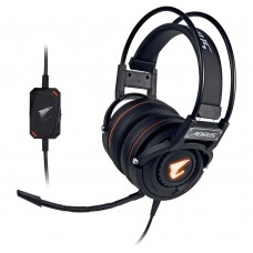 Headset Gamer Gigabyte Aorus RGB, USB, Black, GP-AORUS H5