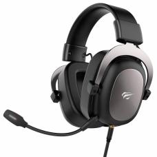Headset Gamer Havit HV-H2002D 3.5mm Preto/Vermelho