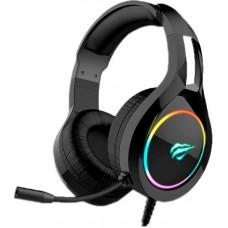 Headset Gamer Havit RGB HV-H2232D, Black