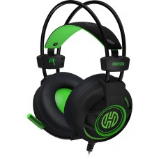 Headset Gamer Hoopson Bruiser, LED, USB, Verde, DG28G
