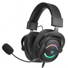 Headset Gamer HP DHE-8006, 7.1 Surround, USB, Black, DHE-8006