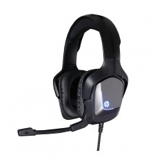 Headset Gamer HP  H220, Com Fio, USB + P2, Black - Open Box