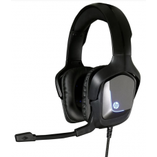 Headset Gamer HP  H220, Com Fio, USB + P2, Black