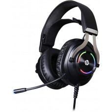 Headset Gamer HP  H360GS, Surround 7.1, Com Fio, USB, Black, H360GS