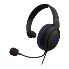 Headset Gamer HyperX Cloud Chat, PS4, 3.5mm, Black/Blue, HX-HSCCHS-BK/AM