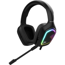 Headset Gamer KWG, TAURUS M2, RGB, BLACK - Open Box