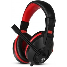 Headset Gamer Marvo H8321P, Com Fio, Black/Red, H8321P