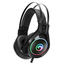 Headset Gamer Marvo HG8901, Com Fio, Black, RGB, HG8901