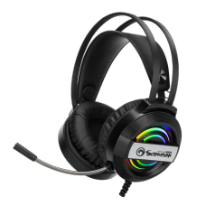 Headset Gamer Marvo HG8902, Com Fio, Black, RGB, HG8902