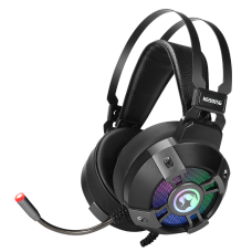 Headset Gamer Marvo HG9015G 7.1, LED RGB Rainbow