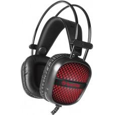 Headset Gamer Marvo Scropion HG8941 Preto/Vermelho