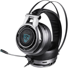 Headset Gamer MotoSpeed H18 Surround, 7.1, Grey, FMSHS0083CIZ