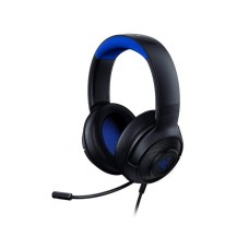 Headset Gamer Razer Kraken X, Ps4/Xbox One/Switch/Pc, Preto/Azul - RZ.AU.KR.07.RT