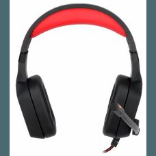 Headset Gamer Redragon Muses H310 Sorround 7.1 USB Preto/Vermelho