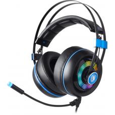 Headset Gamer Sades Armor Realtek RGB, Black