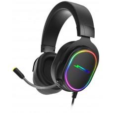 Headset Gamer SuperFrame, VELKA, 7.1 Surround, RGB, USB, Black