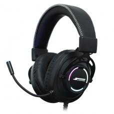 Headset Gamer SuperFrame AURA, 7.1 Surround, RGB, USB, Black