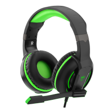Headset Gamer T-Dagger Caucasus, Black e Green, T-RGH207