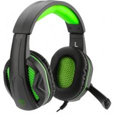 Headset Gamer T-Dagger Cook, Black e Green, T-RGH100
