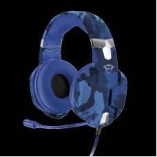 Headset GamerTrust Carus, Multiplataforma, Azul, GXT322B