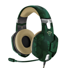 Headset Gamer Trust Jungle Camo, Multiplataforma, GXT322C