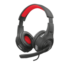 Headset GamerTrust Ravu, Multiplataforma, Preto, GXT307