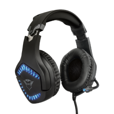 Headset Gamer Trust Varzz Illuminated, PC e Laptop, GXT460 - Open Box